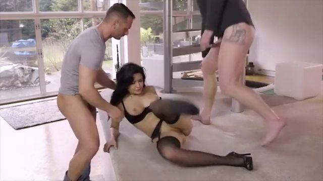 Tubsexer Busty Milf Ava Addams Threesome Sex