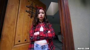 Mofos - LatinaSexTapes Сharming Latina Melissa Moore Gets Cop Huge Dick