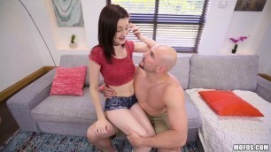 Mofos - DontBreakMe Delightful Value Life Hacks From Hailey Little How To Fuck A Monster Cock
