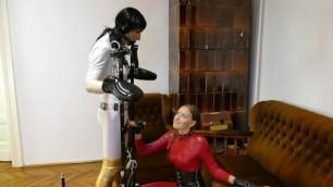 Mistress Mercilessly Edging Slave