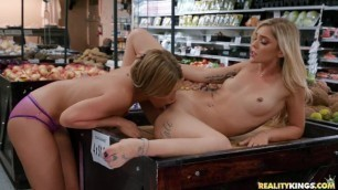 Kali Roses Leah Lee Clean Up On Aisle 69 Realitykings Lesbian Dare Onlygirlvideos Com