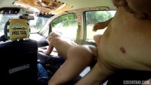 Czech Taxi In which a skinny blonde is fucked 29