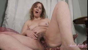Auntjudys Valeria Sensual Dance Tease And Fullbush Masturbation Mishandalvin