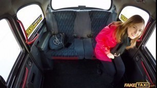 FakeTaxi Nice Girl Hot minx takes drivers cock and cum