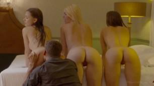 Slav Hot Group Sex Party Izzy Delphine Sasha Rose and Kristy Black