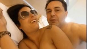 Sara Tommasi blowjob at Andrea Dipre with fucked and suck