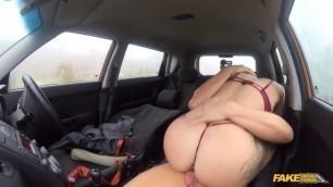 FakeDrivingSchool Alexxa Vice Deep Anal sex ensures driving test pass