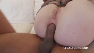 Piercing Big Boobs Proxy Paige with Sexy Tattoo DAP Deep ANAL Sex