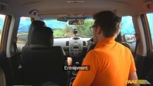 Jasmine Jae Lucia Love Double Cumshot in Exciting 3some Sex FakeDrivingSchool