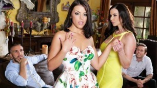 Adriana Chechik And Kendra Lust In Our Son's Girlfriend: Remastered