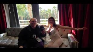 Alexis Fawx with Jiggy Jaguar AEE 2019 Hard Rock Hotel Las Vegas NV January