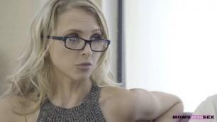 MomsTeachSex Experienced Stepmother Threesome Sex Alix Lynx Elsa Jean