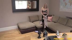 Cash Seduces Amateur Big Tits MILF And sweet pussy FakeAgentUK