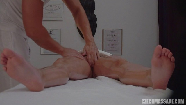 Czech girl wants her to be fucked by a massage therapist E214