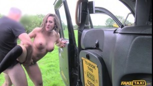 FakeTaxi Depraved Spanish lady with great sexy body