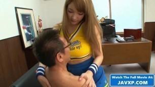 Hot Japanese Teen Cheerleader Gets Fucked