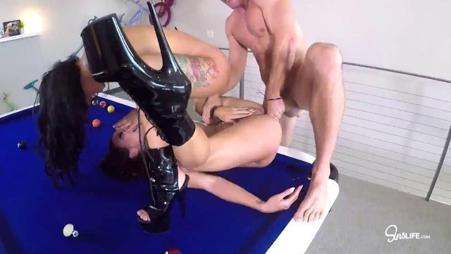 SinsLife Kissa Sins Gina Valentina Awesome Girls Sins Sex Tour