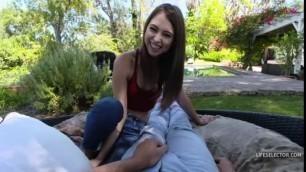 LifeSelector Riley Reid Young Brunette Girl How I Met My Girlfriend