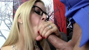 Alexis Fawx sucks cock and fucks Under the Influence