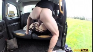 FakeTaxi Stunning Adreena Taxi anal with big pointy nipples