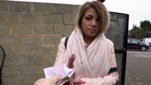 Schoolgirl Beauty Bella Scaris Works On Big Cock For Cash