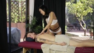 Lovey dovey Princess Massage Saya Song Matt Sloan FantasyMassage