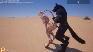 Wild Life - Sex game - Talon(Rasha) VS (Rawn) Furry sex - part 6