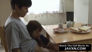 Japanese Mom Helps Horny Stepson