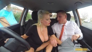Michelle Thorne Huge Alluring Tits MILF Pass After Creampie FakeDrivingSchool