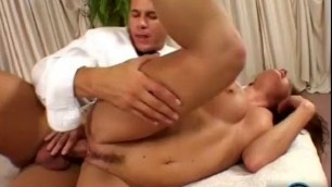 Lovely Girl Judith Fox moaning loud as she gets banged early in the morning