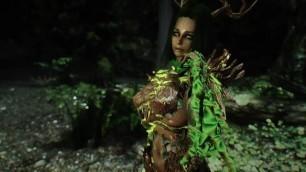 skyrim female monster Spriggan girl porn