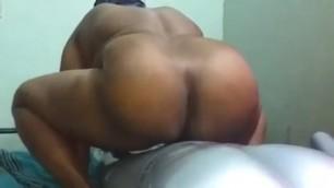 Big Ass Tamil Aunty Masked Fuck