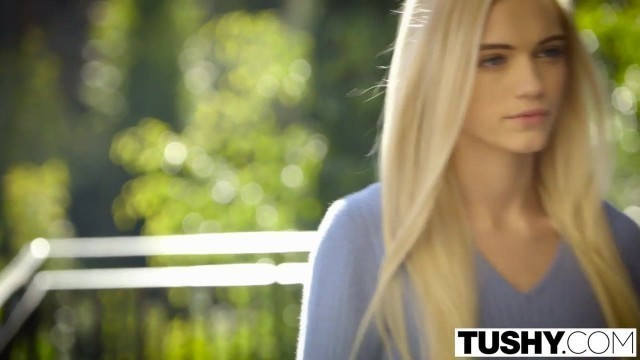 TUSHY - First Anal For Beautiful Blonde Alex Grey
