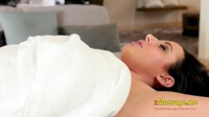 Fat tits angela white anally fucking her hung masseur with 18 Year old bati