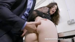Private.com - Misha Cross Deep Throats & Anal Bangs A Cock!