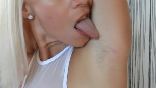 Hairy Armpits Lick,Sniff,Huge Squirting (PREVIEW) - MissAnja.manyvids.com
