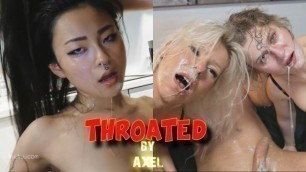 THROATED by Axel - Extreme Compilation of Throat Bulge Face Fuck