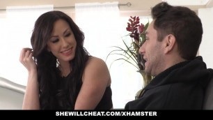 SheWillCheat - Curvy Wife Cheats on Husband With Partner