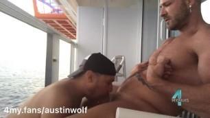 balcony fuck on my atlantis cruise:4my.fans/austinwolf