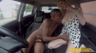 Fake Driving School Georgie Lyall gets a huge black dick in her pussy