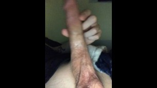 Jerking off while gf home