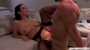 Your Dream Girl Angela White Fucks You in Sexy Black Lingerie