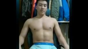 Muscular Korean Cam
