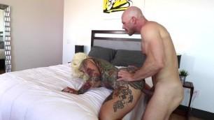 Johnny Sins Fucks Tatted Up Blonde