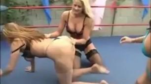 Goldie Blair & JC Marie vs Christina Carter
