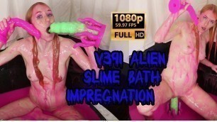 FREE PREVIEW v391 Alien Slime Bath Impregnation