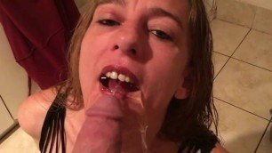 Piss and cum in my mouth
