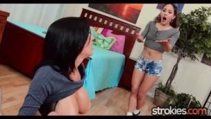 Tutor Teaches Teen Veronica Liv A Lesson
