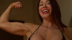 Muscle Babe Needs a Strong Man - Not You!