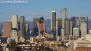 Giantess stripper